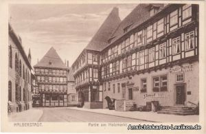 Halberstadt Partie am Holzmarkt mit Credit-Verein