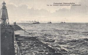 Osternothafen Ostswine-Swinemünde Warszów Świnoujście Ostmole Torpedoboote 1916