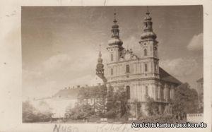 Neisse Neiße Nysa Oppeln Oberschlesien Foto Ak c1930