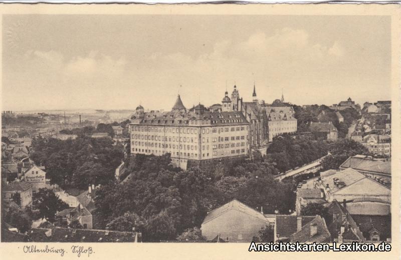 Altenburg Totale mit Schloß