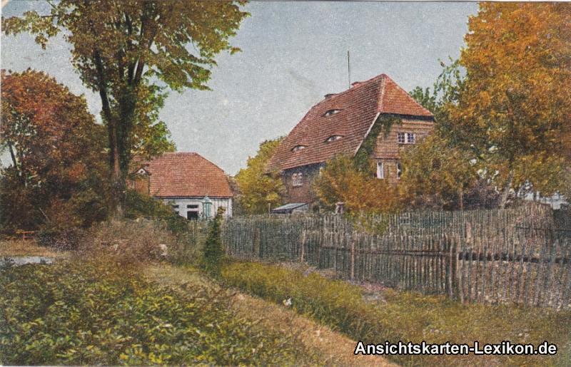Ansichtskarte Stettin Umlandpartie Szczecin 1922