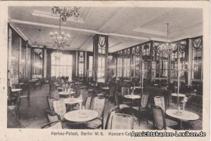 Berlin Kerkau-Palast - Saal