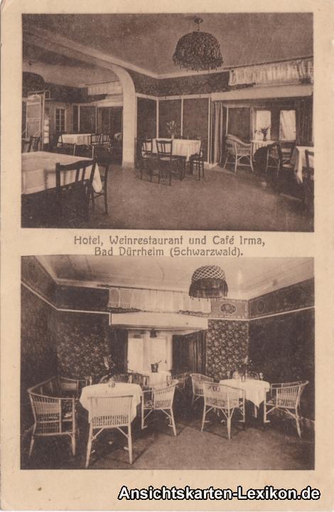 Bad Dürrheim 2 Bild: Hotel, Weinrestaurant und Cafe Irma