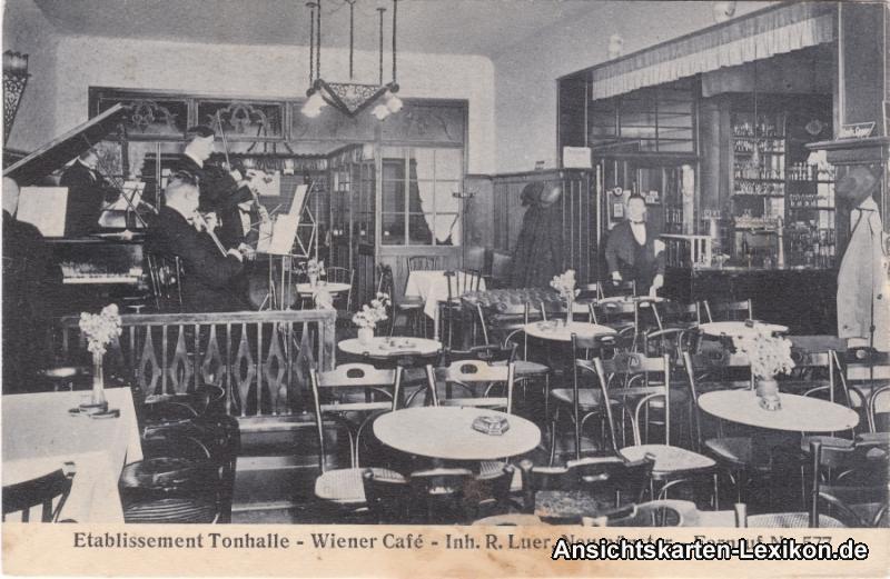 Neumünster Etablissement Tonhalle - Wiener Cafe
