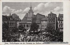 Jena Frühschoppen vor dem Rathaus - Marktplatz