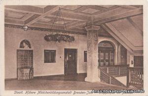 Dresden-Johannstadt Höhere Mädchenbildungsanstalt - Trep