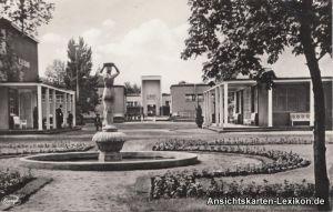 Dresden  Internationale Hygiene-Ausstellung - Teilgebäud