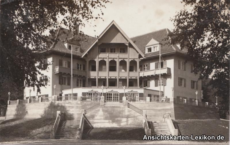 Oberammergau Kurhaus Osterblick