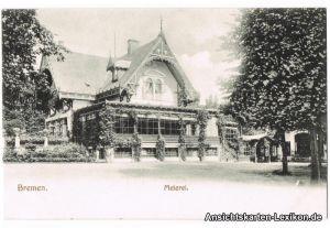 Bremen Partie an der Meierei