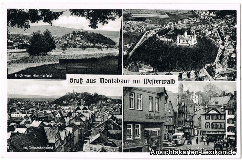 Montabaur 4 Bild: Panorama, Luftbild, Panorama und Große