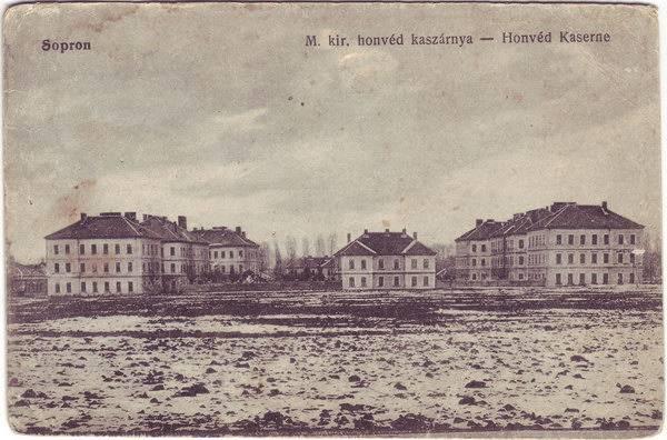 Ödenburg Honved Kaserne ( M. kir. honved kaszarnya)
