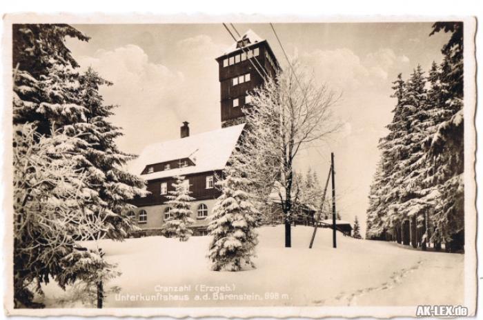 Sehmatal-Cranzahl Unterkunftshaus auf dem Bärenstein - I