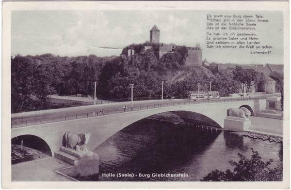 Halle Saale Giebichenstein Burg Giebichenstein mit Saale