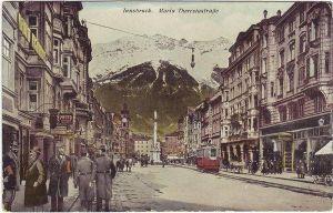 Innsbruck Maria Theresia-Straße Ansichtskarte Tirol c191