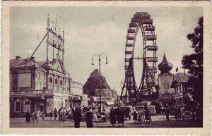 Wien Wiener Prater, Riesenrad Ansichtskarte c1930