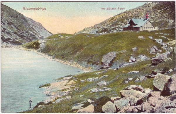 Riesengebirge, am kleinen Teich b Hirschberg (Schlesien)
