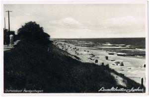 Henkenhagen Dünenweg Ustronie Morskie Kolberg Kołobrzeg Ansichtskarte 1938