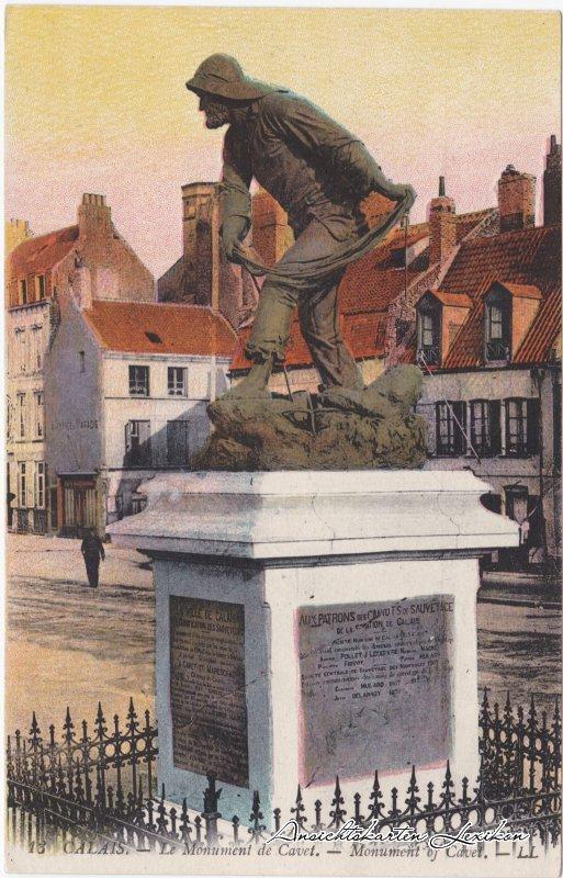 Calais Le Monument de Cavet.