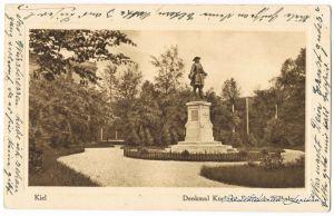 Kiel-Düsternbrook Denkmal Kurfürst Friedrich Wilhelm