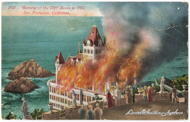 San Francisco Burning Cliffhouse