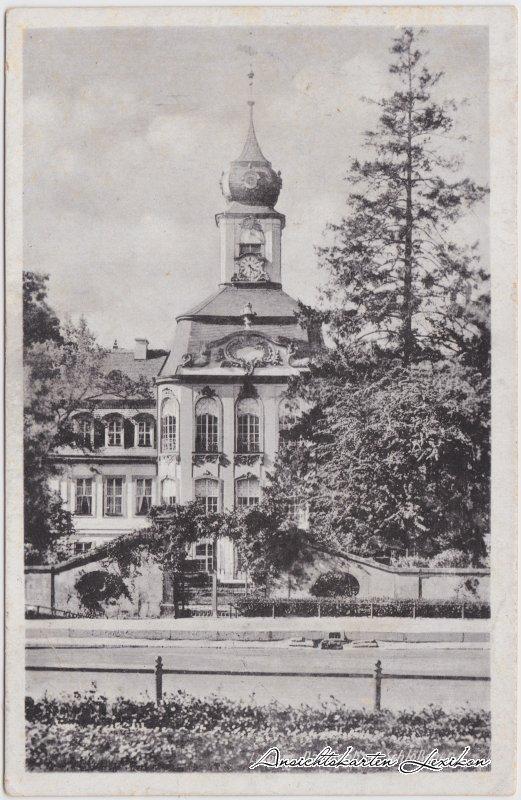 Gohlis-Leipzig Das Gohliser Schlößchen Ansichtskarte 1955