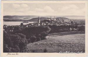 Plön Blick auf die Stadt Ansichtskarte g1937