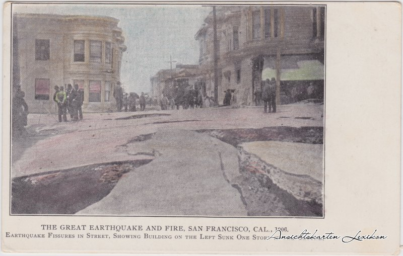 San Francisco The Great Earthquake