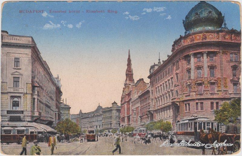 Budapest Erzsébet körút