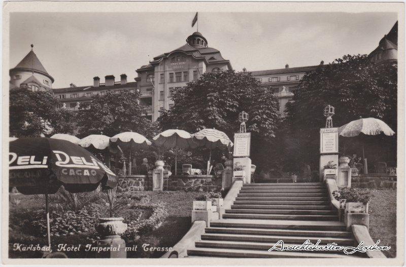 Karlsbad Hotel Imperial mit Terasse