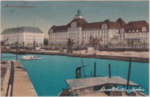 Düsseldorf Partie am Hafen