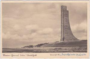 Laboe Marine-Ehrenmal Laboe Ansichtskarte b Kiel 1933