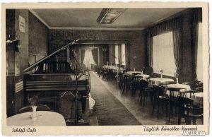 Senftenberg (Niederlausitz) Schloß-Cafe - Innenansicht