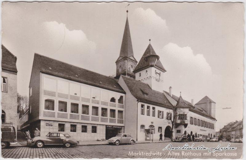 Marktredwitz Altes Rathaus mit Sparkasse