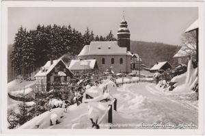 Nordenau-Schmallenberg Straßenpartie im Winter