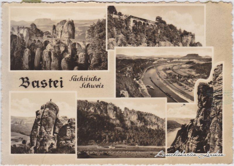 Wehlen Bastei Sächsische Schweiz