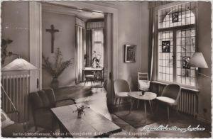 Schlachtensee-Berlin Tagesraum des Mütter-Erholungsheim d. Ev. Frauenhilfe