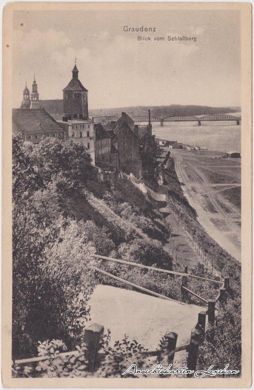 Graudenz Blick vom Schloßberg