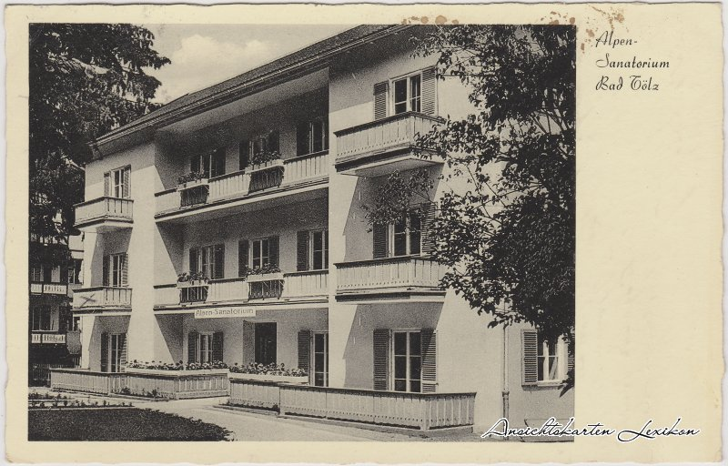 Bad Tölz Alpen-Sanatorium