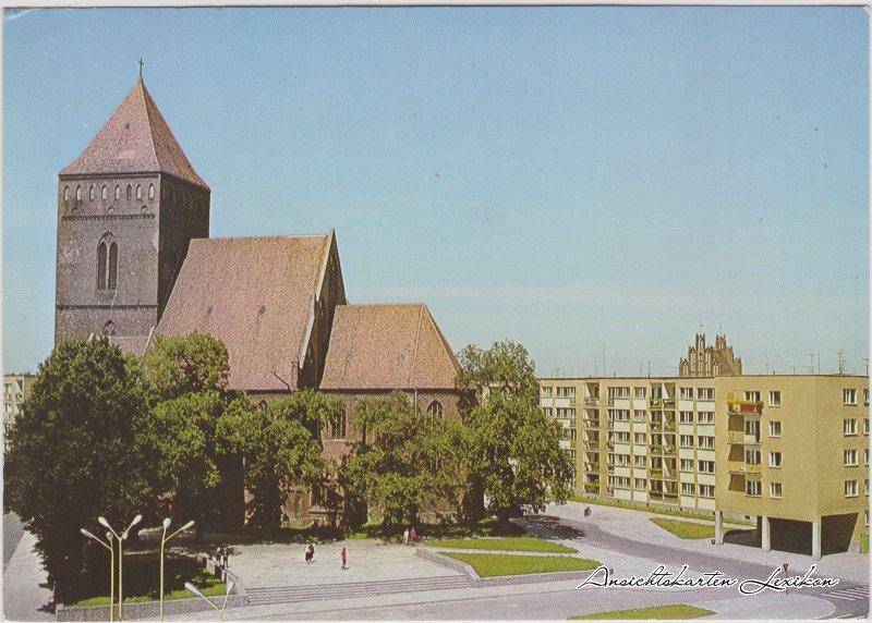 Gollnow Katharinenkirche Goleniów b Naugard pomorskie 1980