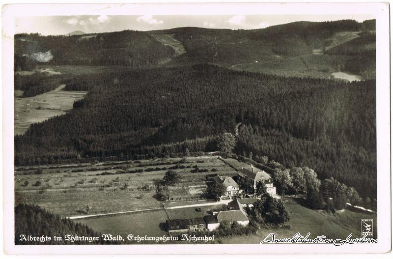 Albrechts-Suhl Das Landgut Aschenhof aus der Luft