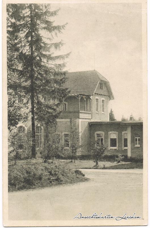 Carolagrün-Auerbach (Vogtland) Partie an der Heilstätte