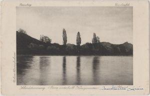 Königswinter Abendstimmung am Rhein