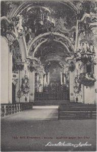 Einsiedeln Stift Einsiedeln - Kirche - Chor