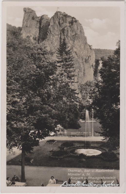 Bad Münster am Stein-Ebernburg Kurpark