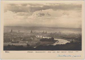 Innere Altstadt-Dresden Blick auf Dresden  (Walter Hahn Nr. 7877) 1960