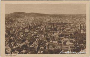 Stuttgart Blick auf die Stadt