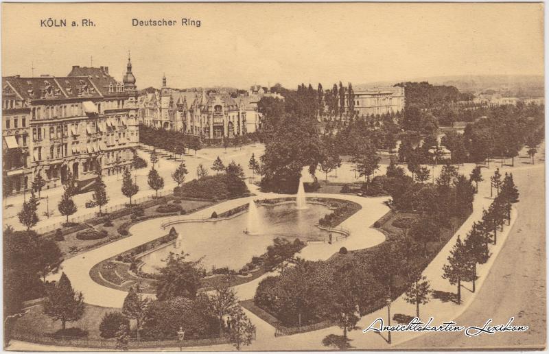 Köln Deutscher Ring - Parkanlagen