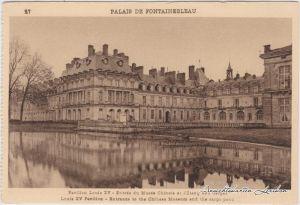 Fontainebleau Palais de Fontainebleau