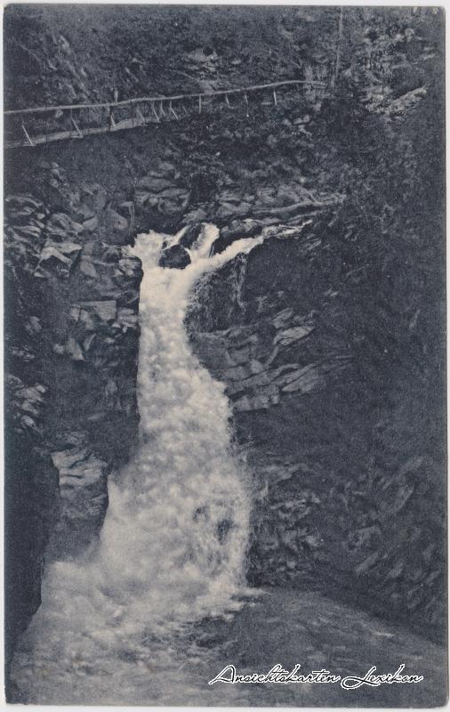 Servoz Cascade des Danses - Gorges de la Diosaz Haute-Savoie  1914
