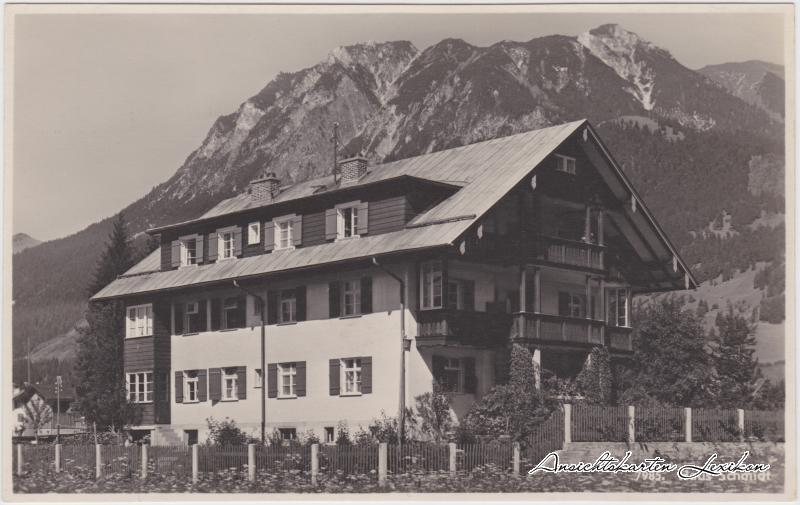 Oberstdorf (Allgäu) Haus Schmidt